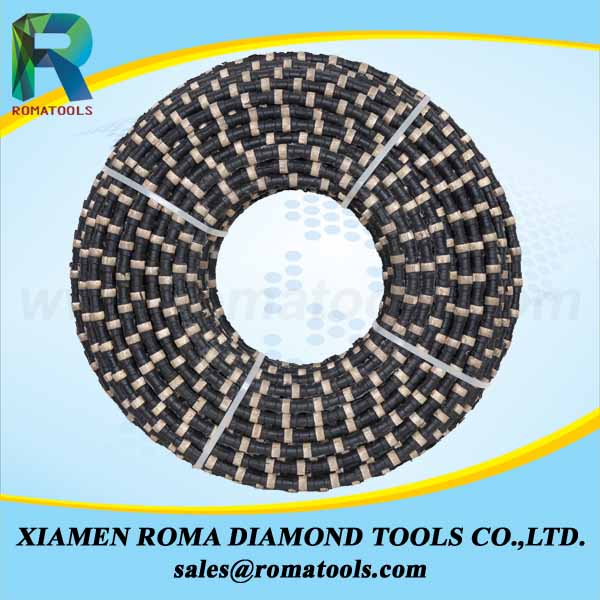 Diamond Wires for Reinforced Concrete