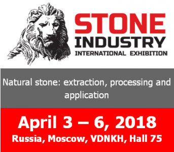 STONE INDUSTRY 2018 > MOSCOW, RUSSIA